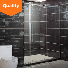 Hot selling frameless glass sliding shower door/bathroom design