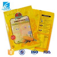 OEM gravure printed custom made corn starch plastic bag