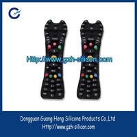 Custom Molded remote control rubber buttons