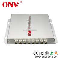 8 Channel Video + Data + Audio + telephone+100M Ethernet Fiber Optic Transceiver for water conservancy monitoring system