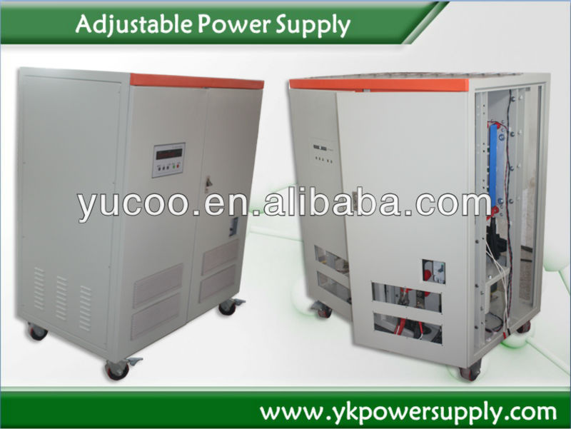 24V 1000A 24KW low voltage and high current variable power supply