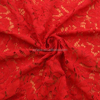 Colorful Guipure China supplier floral lace fabric trim for garment