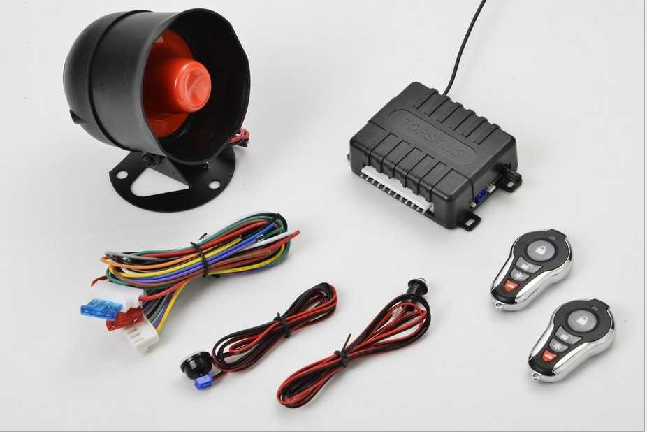 Factory price one way car alarm system with trunk open