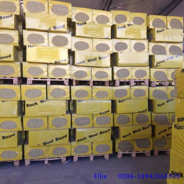 Fireproof Rock Wool Board Rock Wool Slab And Rock Wool