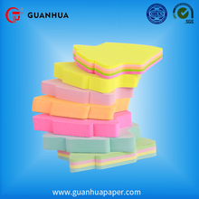 China supplier free samples supplied fruit shaped memo pad