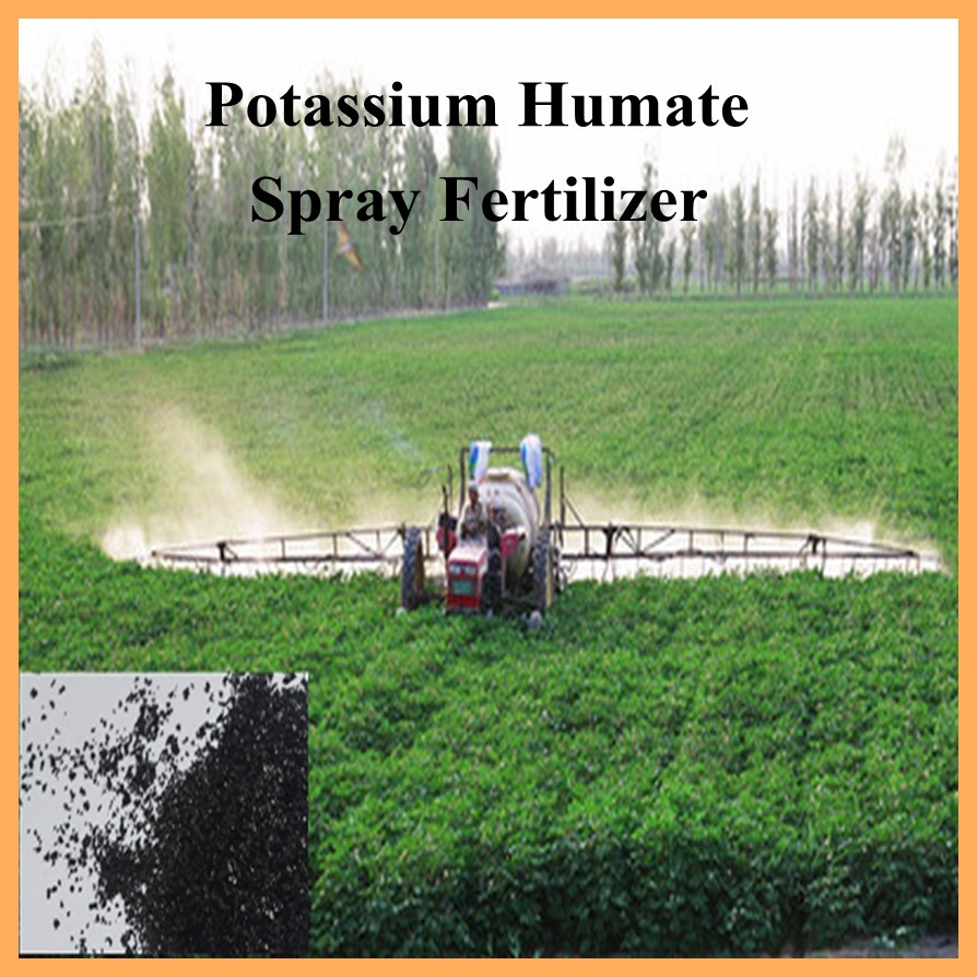 Potassium Humate / Fulvic Acid / Humic Acid In Organic Fertilizer