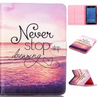 Print pattern Wallet universal 7 inch tablet leather case Stand Cover holster Tablet PC PAD tablet 7 inch Accessorie