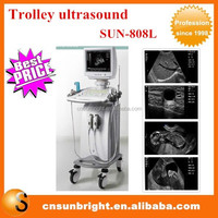 Trolley CE Price Medical Ultrasound Portable