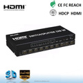 2x8 HDMI 1.4 Extender / Splitter /switch 2 in 8 out HDMI Amplifier