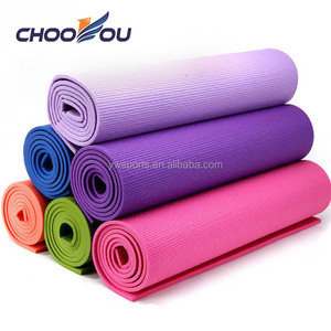 Custom logo wholesale cheap pvc yoga mat