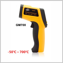 GM700 new style Infrared food thermometer/digital laser thermometer non-contact calibration infrared thermometer