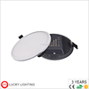 CE RoHS surface recessed slim panel 15w 22w round square ultra thin led panel light
