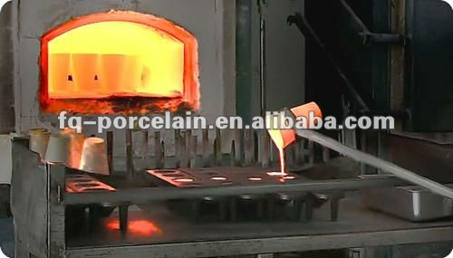 THE MAKER SINCE YEAR 1964 Ceramic crucible melting metal crucible Fire Assay Crucible