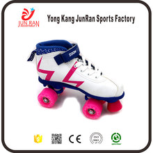 Factory Supply PVC Outsole Material four wheels quad skate