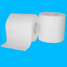 OEM Ultra soft premium wood pulp embossed tissue paper toilet roll