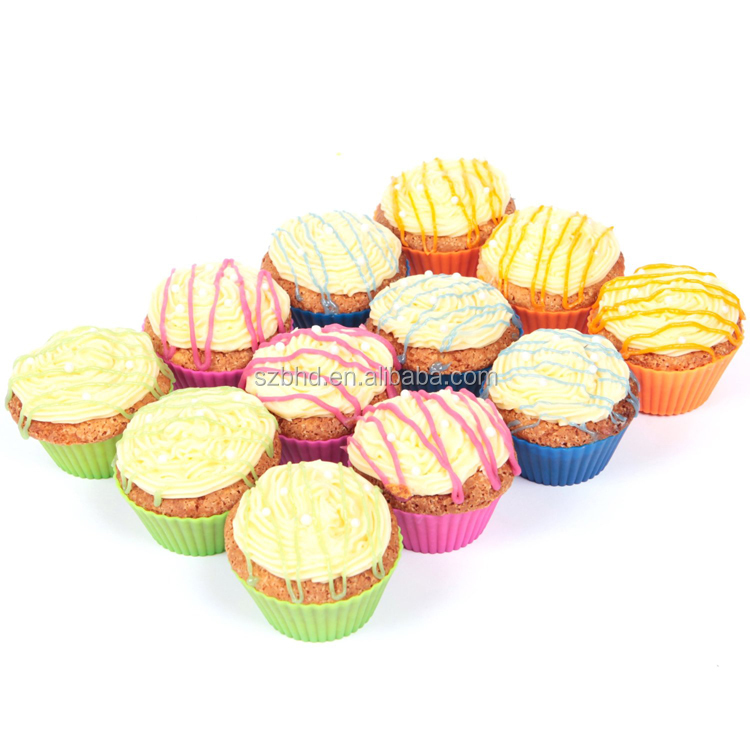 FDA approved silicone muffin cake mould