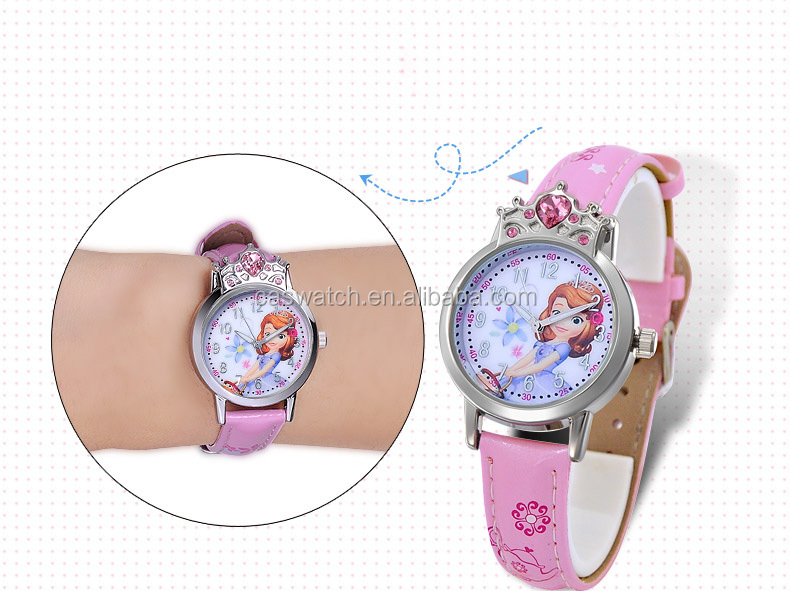 Pretty cartoon series kids watch cheap wholesale fairy tales roles watch for children