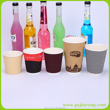 disposable food grade spiricle coffee paper cup for hot drink