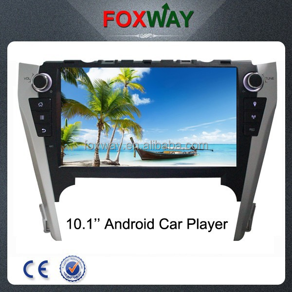 10.1'' 2 din touch screen android car dvd player for Toyota Camry with car gps navigation/Bluetooth/Wifi/3g/fm am radio/ipod/tv