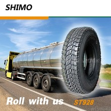 Chinese black line truck tires for sale