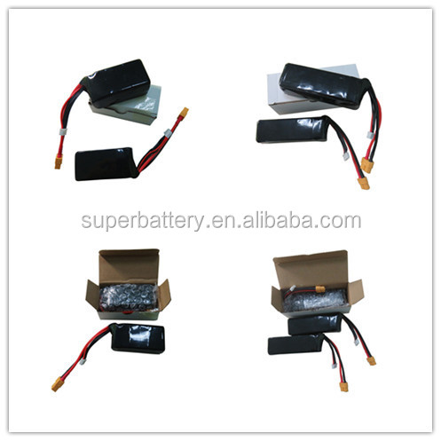 3S 11.1v 40C 1300mah lithium polymer rechargeable battery for RC drone helicopter
