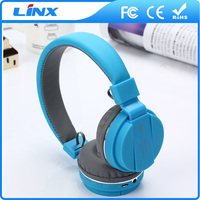 Headband style headphone sport wireless bluetooth stereo headset with mic