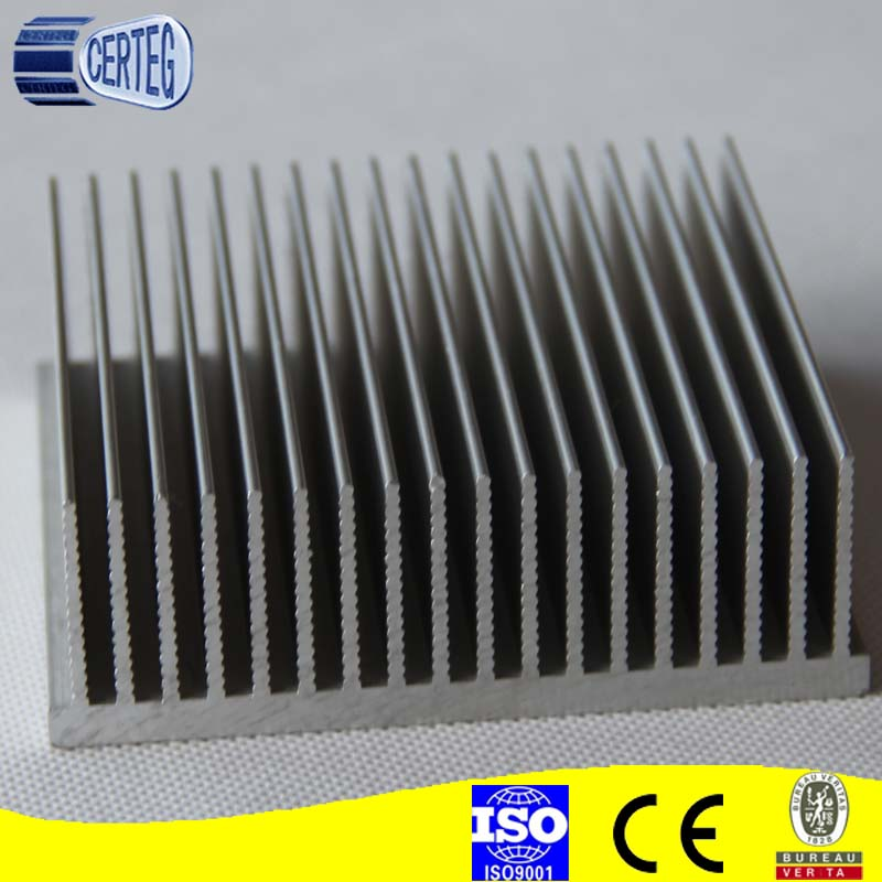 stamping and extrusion aluminum heatsink fin with pin heatsink