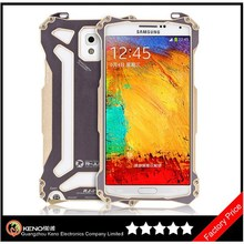 Keno Heavy Duty Full Aluminum Metal Cover Alloy Bumper Case Backing Shell Rugged Shield for Samsung Galaxy Note3