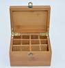 16 slots 25 slots 36 slots Aromatherapy Oil Storage Box Wooden Essential Oil Box essential oil bottle storage box for sale