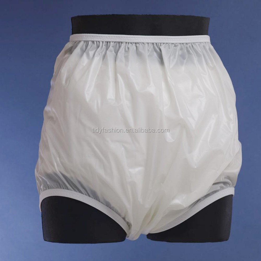Plastic Waterproof Adult Baby Pants