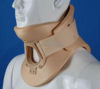 2015 new polymer foam 2 pieces design neck brace cervical collar for both men and women
