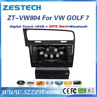 car bluetooth for VW GOLF 7 car bluetooth with dvd gps CD player 1080P ZT-VW804