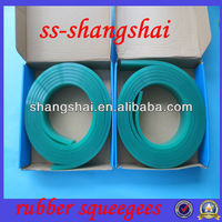 60shoure, 70 shoure,75shoure durometer silicon rubber squeegee supplier