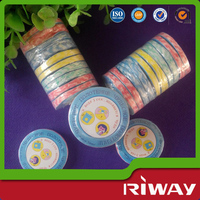 Disposable magic coin tissue/color box packing compressed disposable towel