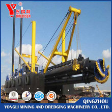low price cutter suction dredger for mud dredging