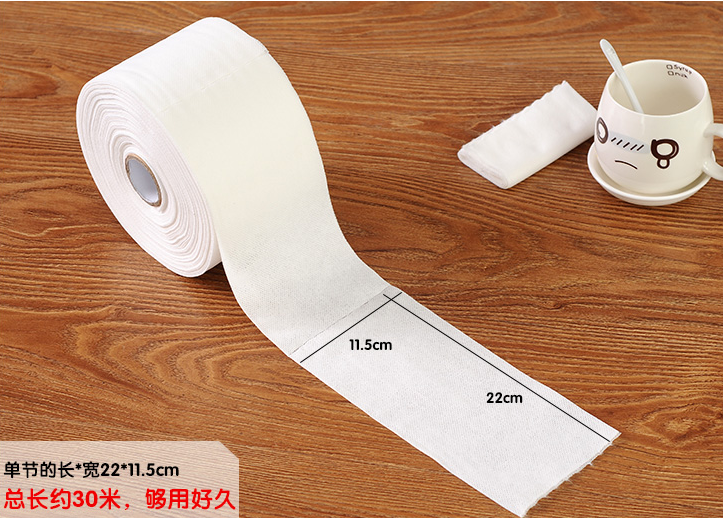 Hand & Face Soft Cleansing Beauty and Make-up Counting Towel Roll
