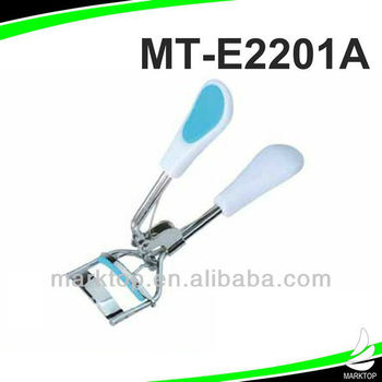 White Plastic Handle Eyelash Curler