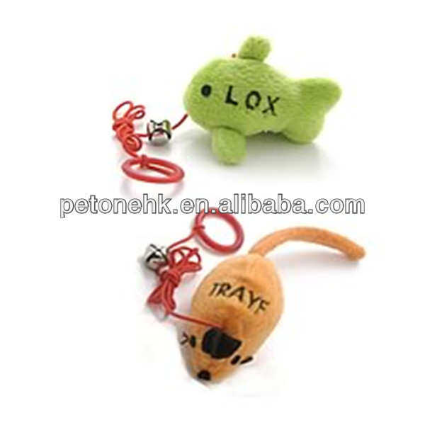 cute sisal mouse cat toys