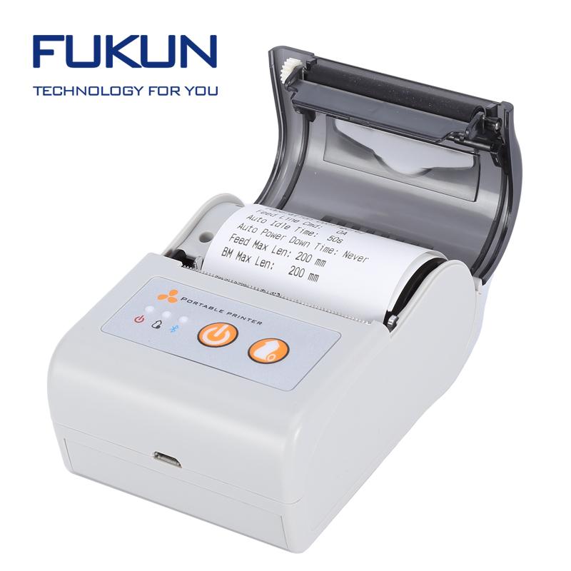 Portable Receipt Printers Invoice Printing Machine Mm Bluetooth - Invoice printer machine