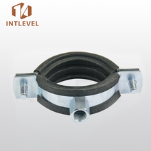Intlevel Carton Steel and Zinc Plated wall mount pipe clamp