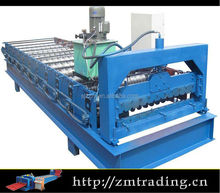 Automatic color steel sheet metal rolling machine/industrial used roof roll forming machine making line