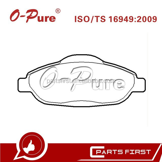 Taiwan Brake Pad OEM:4253.93 for Peugeot 308 genuine spare parts
