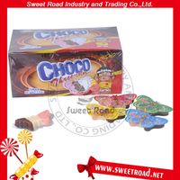 Three Color Butterfly Shape Packing Choco Candy
