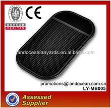 Fashion PU anti slip car Pad for Mobile phone