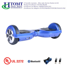 Wholesale price electric scooter 2 wheel hoverboard with bluetooth speaker