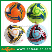 TPU/PU/PVC leather material cheap soccer ball in bulk