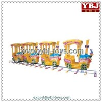 China New Design good quality ride electric train