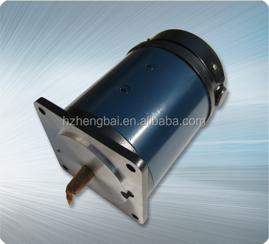 90mm high toruqe rare earth permanent magnet dc servo motor for gear