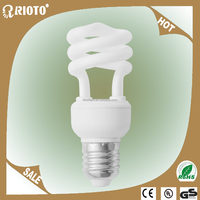 Home Indoor Lighting 220V T2 Daylight E27 CFL Spiral 5W 7W 9W 11W Energy Saving Bulbs CE RoHS