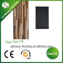 High quality white oak wooden pvc plastic flooring plank